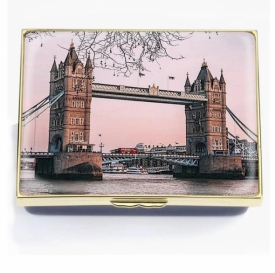 Halcyon Days Tower Bridge 125th Anniversary Box Limited Edition