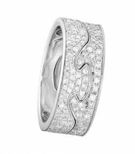 FUSION 2-Part White Gold with Diamonds