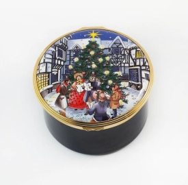 Christmas Lights Musical Box