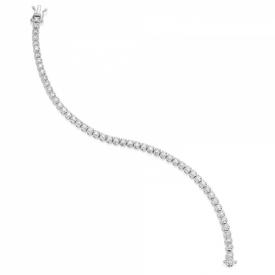 Diamond  4.00ct Flexilink Tennis Bracelet