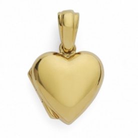 Heart Locket in 9ct Yellow Gold
