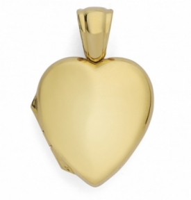 Heart Locket in 9ct Yellow Gold MEDIUM