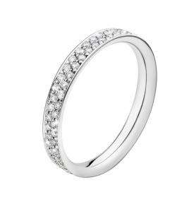 MAGIC Pavé Diamond Centre ring