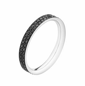 MAGIC Black Pave Diamond Ring
