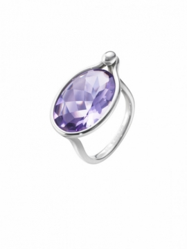 SAVANNAH Ring with Amethyst - 0
